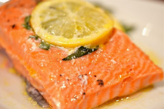 King Salmon With Tarragon-Chive Butter | Seafood (Grain Free, Paleo ...