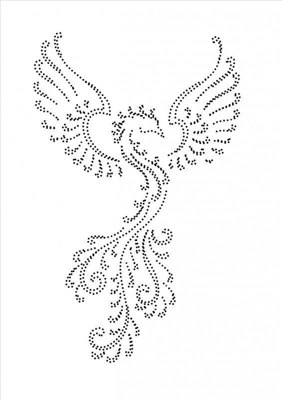 Рисунки для вышивки пайетками 72