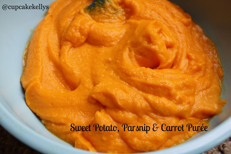 Sweet potato, parsnip & carrot puree | Gluten free, Dairy Free and mo ...