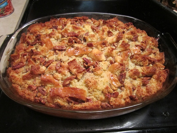 Pecan Bourbon Butterscotch Bread Pudding!! This is BY FAR my favorite ...