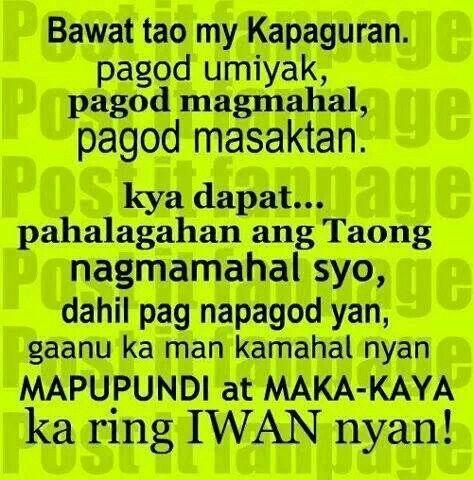 emote tagalog quotes quotesgram