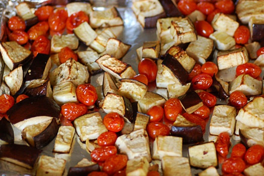 Rigatoni with Roasted Eggplant Puree | recipes to try | Pinterest