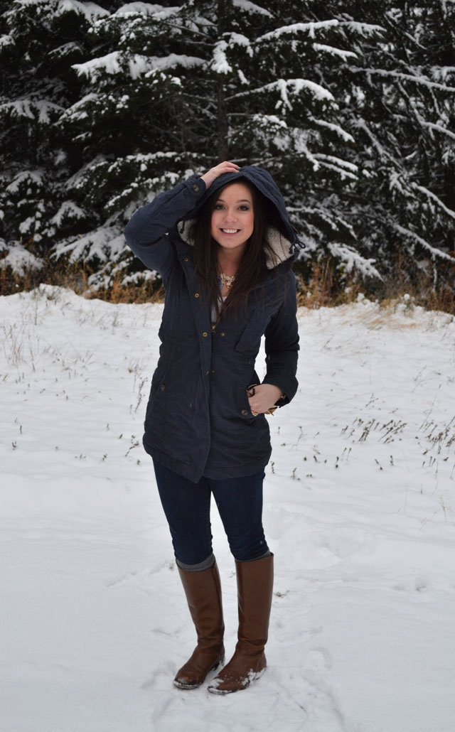 Winter outfits with riding boots