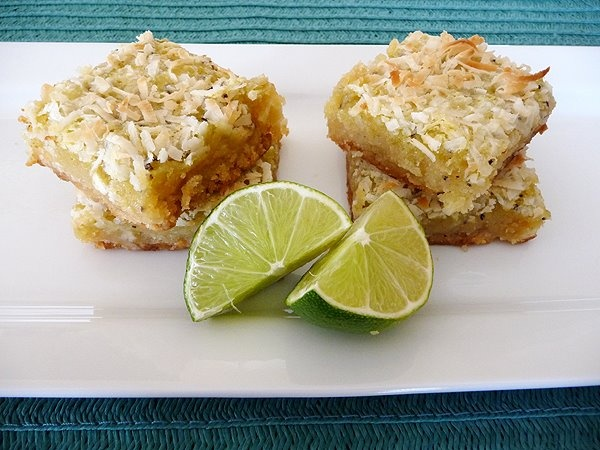 Kiwi-Lime Bars with Macadamia Nut Crust | Food: Sweets: Bars ~ Bites ...