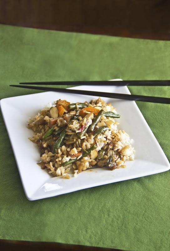 Stir Fry with Toasted Almonds (Naturally Sweet Recipes) -- Stir fry ...