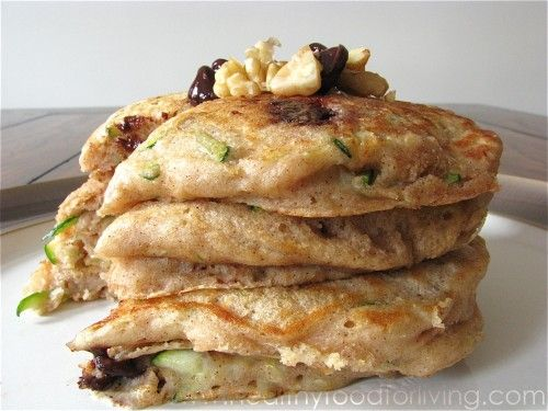 Zucchini Bread Pancakes for One | Recipes | Pinterest