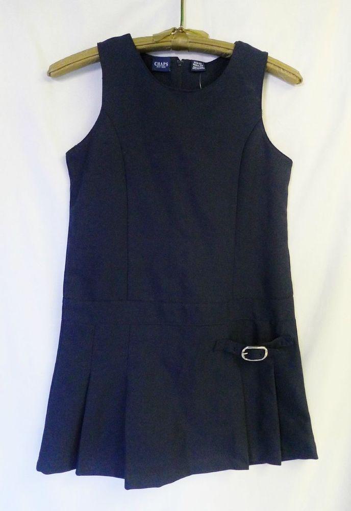 Girls School Uniform Jumper Size M (8/10) CHAPS Ralph Lauren Navy