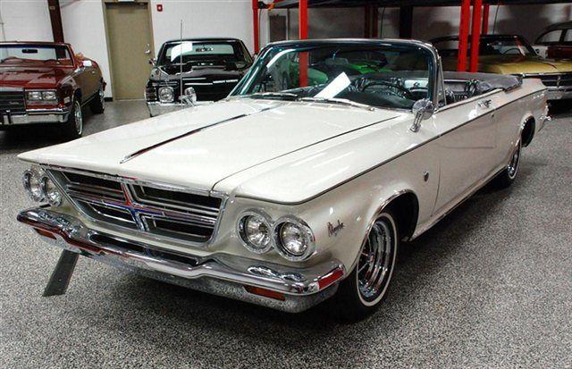 1964 chrysler 300 k convertible transportation pinterest. Black Bedroom Furniture Sets. Home Design Ideas