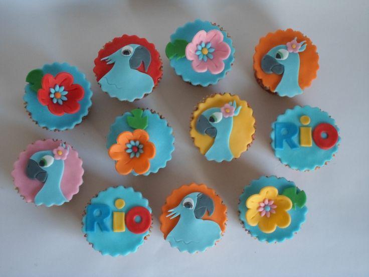 Rio cupcakes