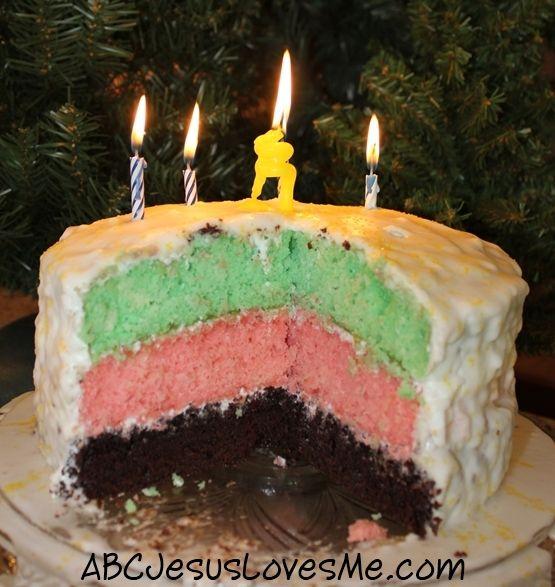 Happy birthday Jesus cake PIC Pinterest