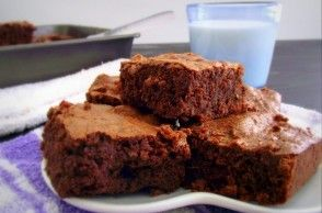 fudgy quinoa brownies at $ 0 50 a square i feel these must be tried