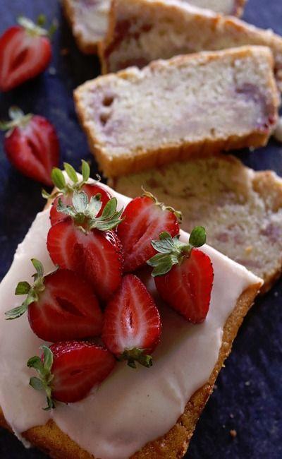 Strawberry & Vanilla Bean Cake | Recipe