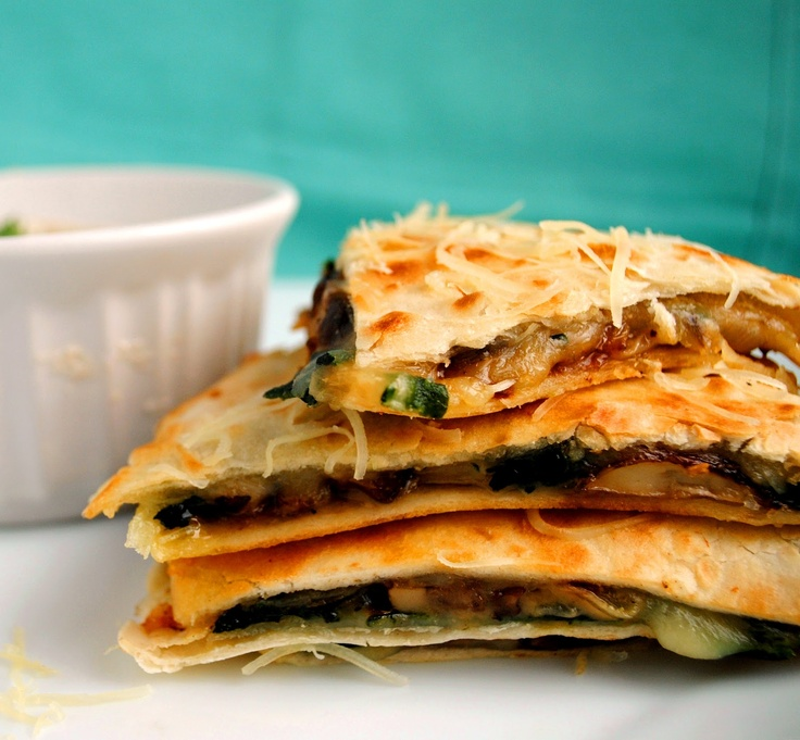 ... spinach mushroom quiche spinach and mushroom quesadillas recipe key