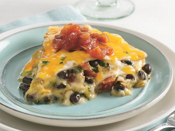 Quesadilla Pie Review: Really good and easy. I used leftovers of a ...
