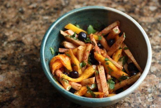 mango-jicama-salad | De-lish! | Pinterest