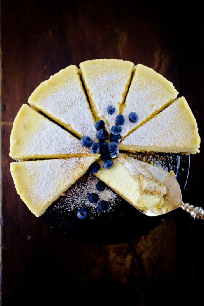 Simple Ricotta Cheesecake | Delicious Foods! | Pinterest