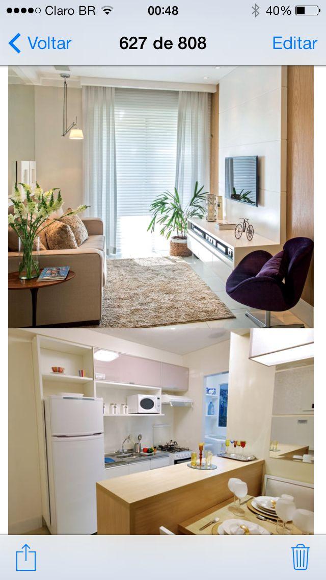 decoracao de apartamentos pequenos e charmosos : decoracao de apartamentos pequenos e charmosos:Pin by Gabi G. on Apartamentos pequenos e charmosos