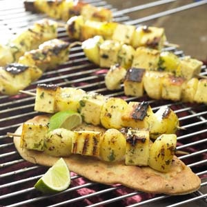 Tandoori Potato and Paneer Skewers | eat, ate, crave | Pinterest