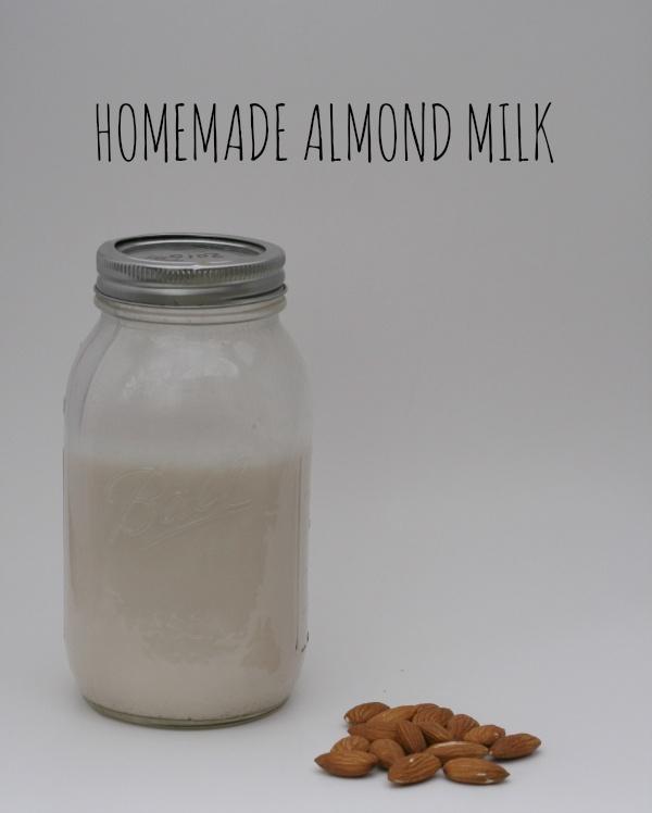 Homemade almond milk | Food | Pinterest