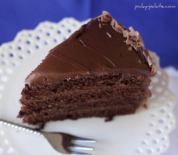 Ice Cream Sundae 4 Layer Chocolate Cake