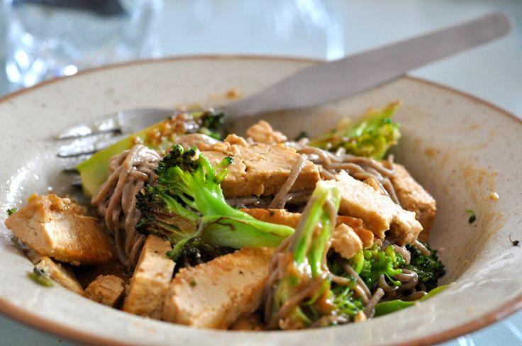 soba noodles soba noodles with broccoli sauce recipes dishmaps soba ...