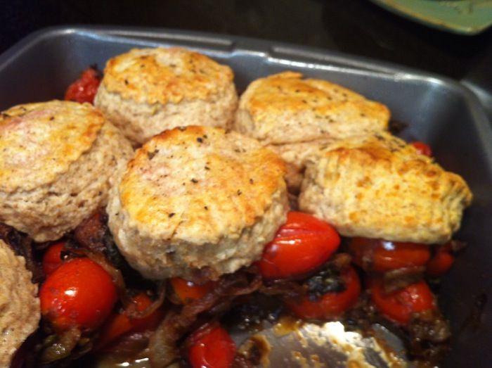 Tomato Cobbler | Kitchen Love | Pinterest