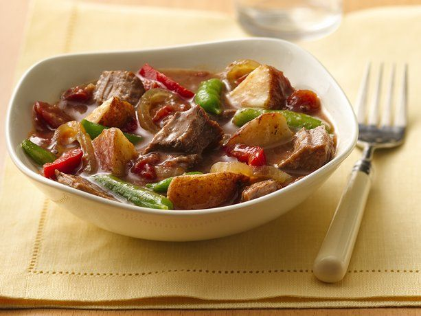 Slow Cooker Steak and Potatoes Dinner