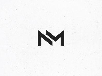 nm monogram #3 | graphic design | pinterest | personal