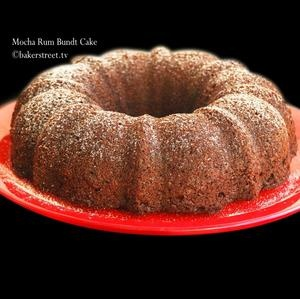 Mocha Rum Bundt Cake | I've Gotta Sweet Tooth | Pinterest