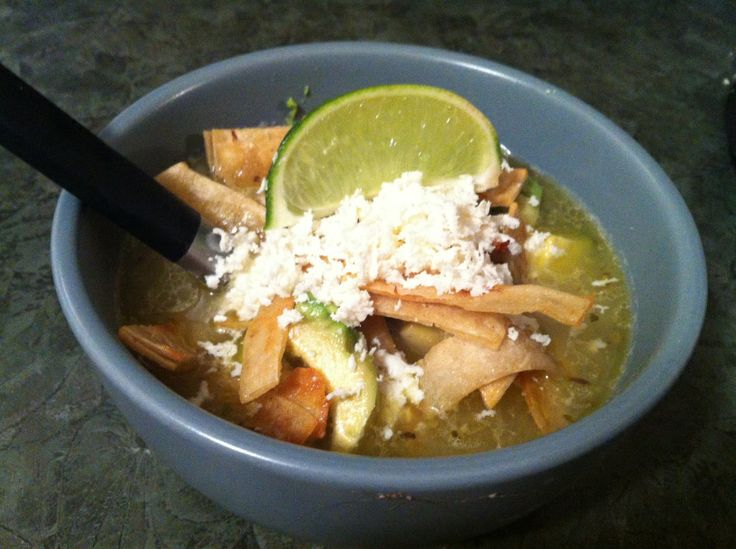 Shredded Chicken Mexican Lime Soup   Recipes to try   Pinterest