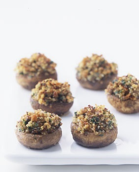 Classic Stuffed Mushrooms as apetizers | Recette .. entrées | Pintere ...