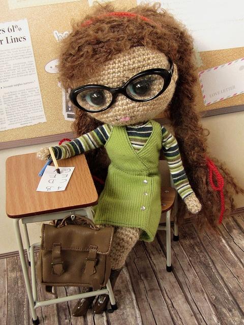 School Girl by ladynoir63, via Flickr