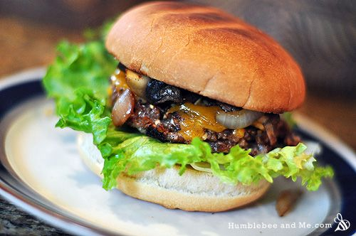 Bulgur Nut Veggie Burgers | {Tasty Eats} | Pinterest