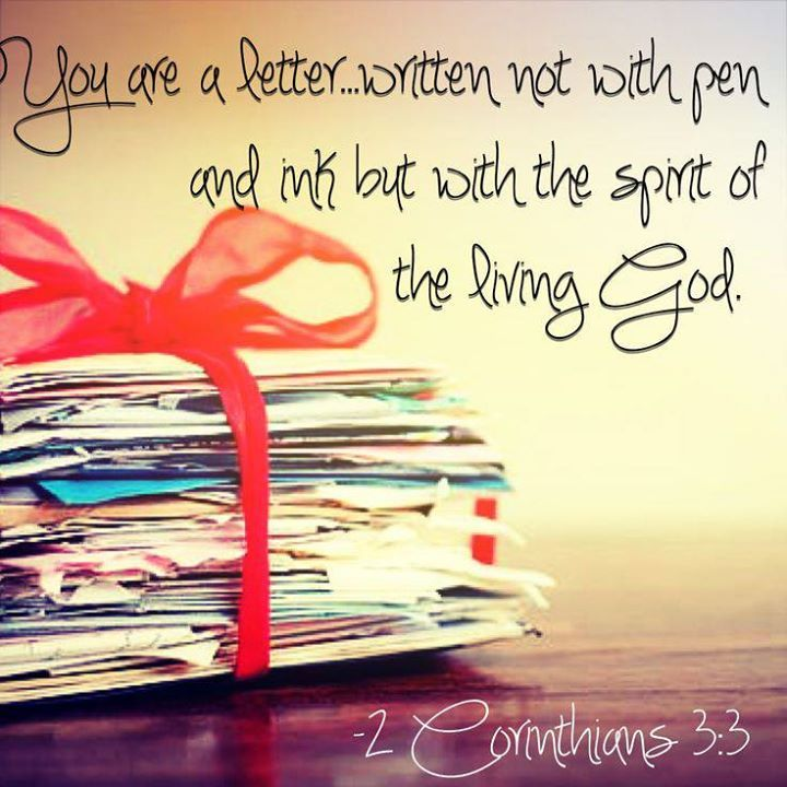 Image result for 2 Corinthians 3:3