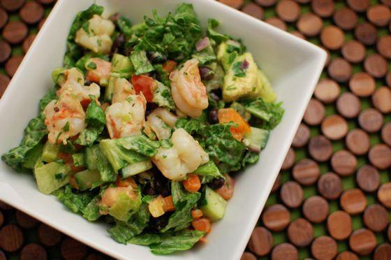 Mexican Cobb Shrimp Salad   Shrimp   Pinterest