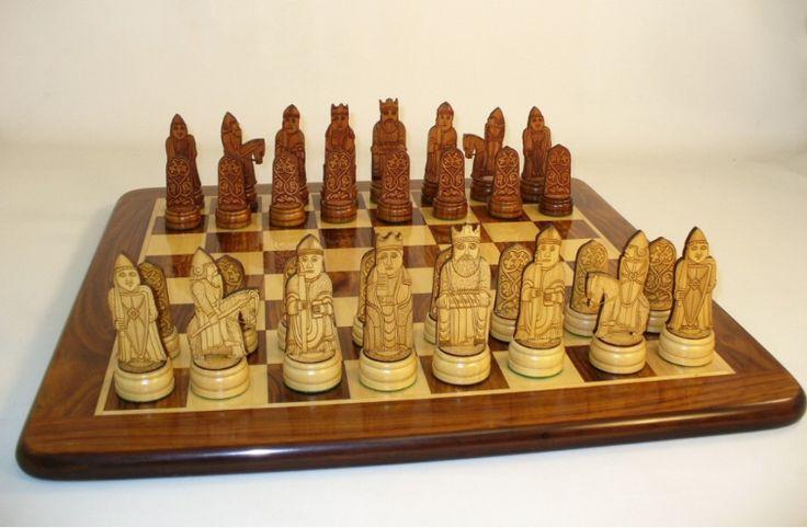 Isle of lewis chess set the games - Lewis chessmen set ...