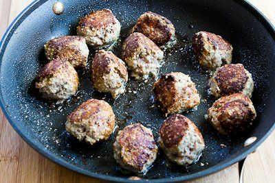Kitchen: Turkey Meatballs with Romano Cheese and Herbs (Phase One ...