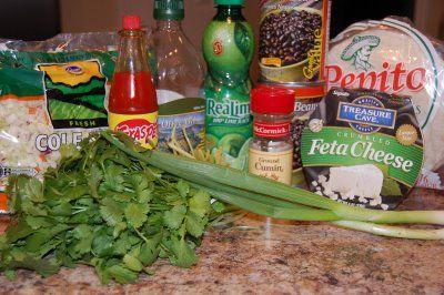 Crisp Black Bean Tacos with Feta and Lime Slaw