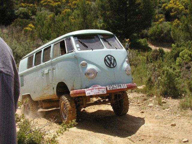 vw combi off road