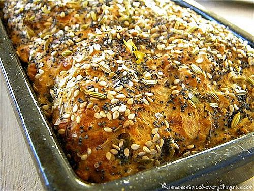 Cheddar Chile Beer Bread by ~CinnamonGirl, via Flickr