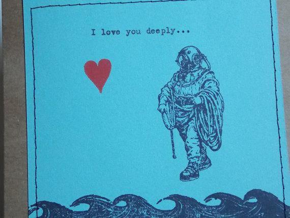 Funny love card deep sea diver for The apartment design your destiny episode 1
