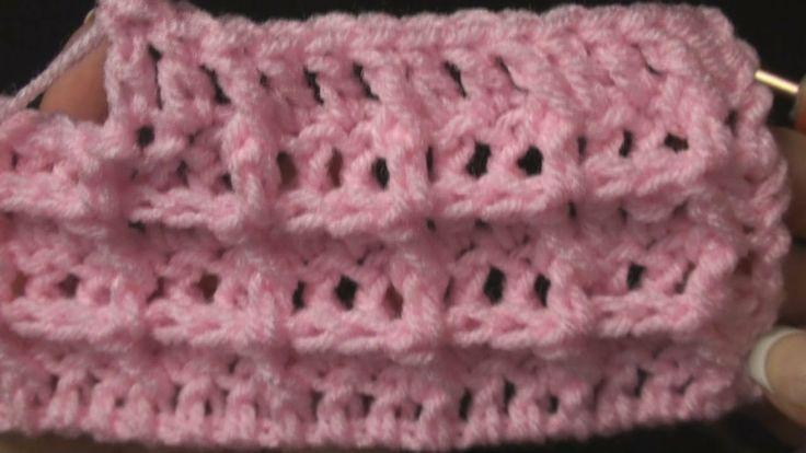 Crochet Stitches Waffle : Crochet Waffle Stitch - Crochet Geek crochet Pinterest