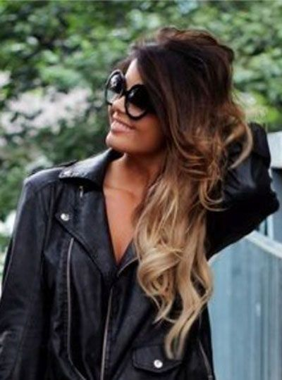ombre hair : This is going to be my college hair style