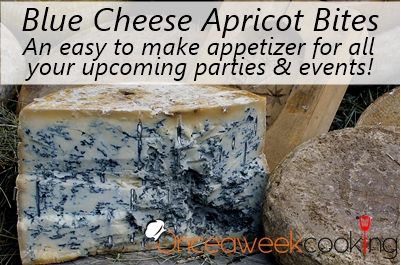 Blue Cheese-Apricot Bites | appetizers | Pinterest