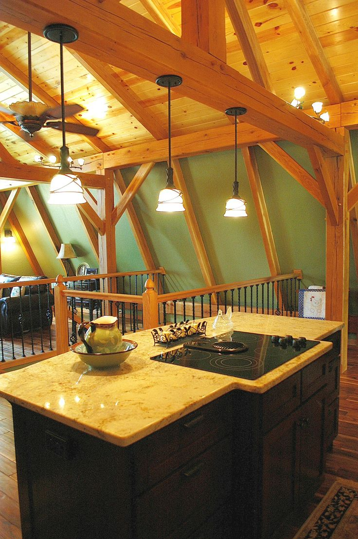 Pin By Homestead Timber Frames On Timber Frame Homes Interiors Pi