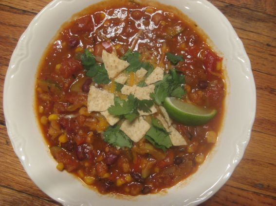 Smoky Chipotle Vegetarian Chili | healthy | Pinterest