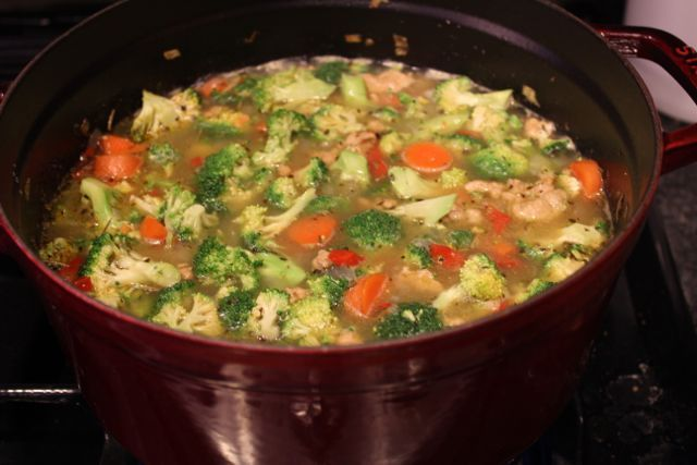 Recipe: Lentil Soup with Italian Sausage and Vegetables