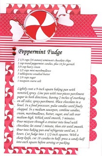 Peppermint Fudge | Scrappy Pages ~ Recipes | Pinterest
