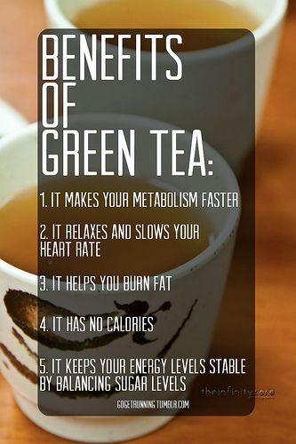 Love green tea.