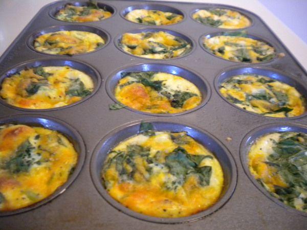 crustless mini quiche | recipes | Pinterest